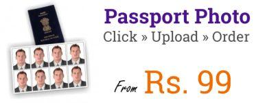 Passport/Visa Photo Prints @ Rs99