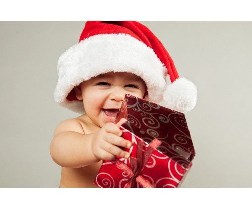 Child's Love - Cute Little Christmas Baby