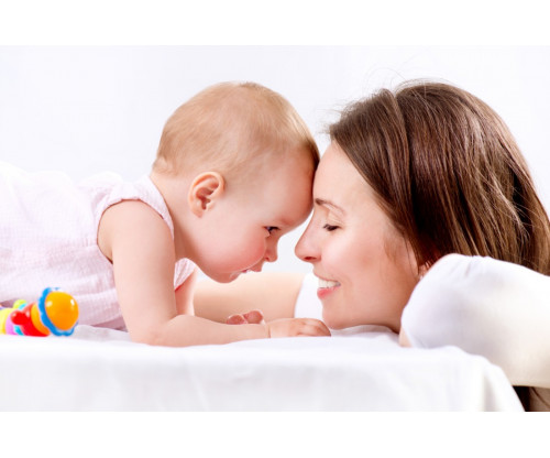 Child's Love - Cute Baby With His Mother