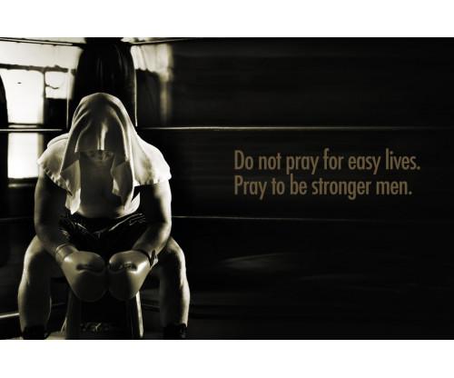 Gym Motivational Quote Sepia Colour
