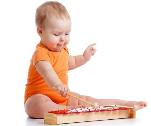 Child's Love - Cute Baby Playing Music