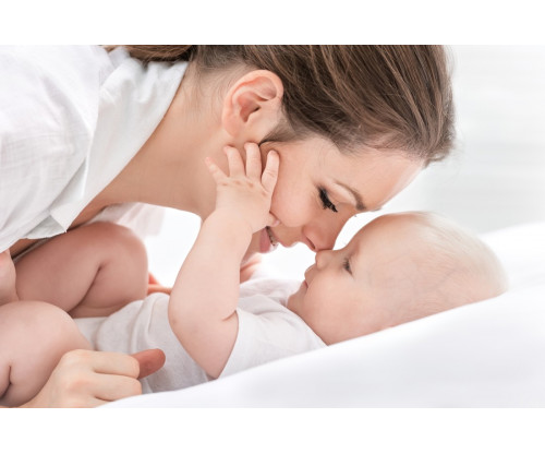 Child's Love - Mom And Baby