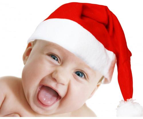 Child's Love - Cute Christmas Baby