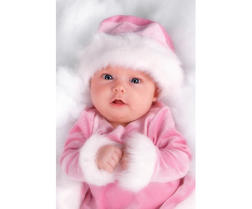 Child's Love - Cute Baby In A Pink Dress 2