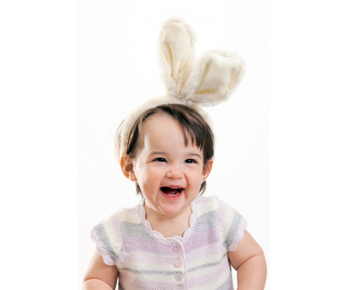 Child's Love - Baby With Rabbit Ear