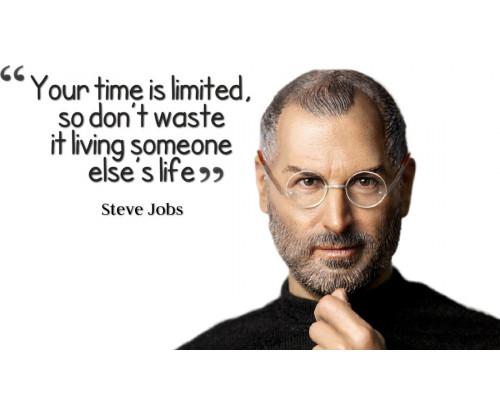 Steve Jobs Motivational Quote 1
