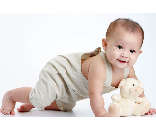Child's Love - Baby Crawling