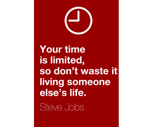 Steve Jobs Motivational Quote 5