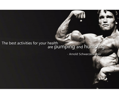 Arnold Schwarzenegger Motivational Quote