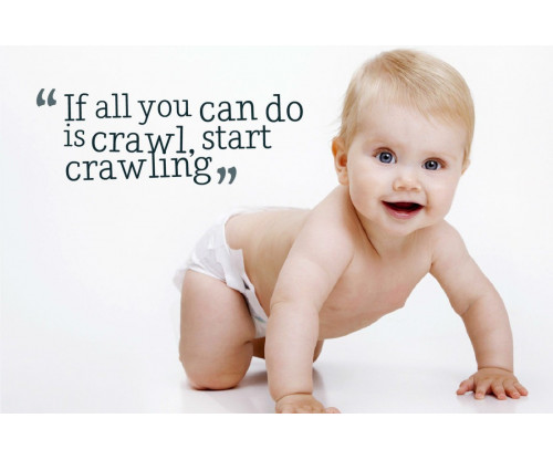 Child's Love - Crawling Baby