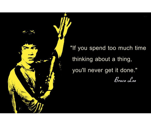 Bruce Lee Motivational Quote 5