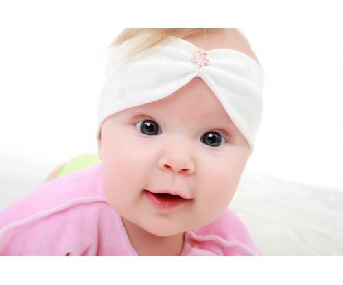 Child's Love - Cute Serious Baby