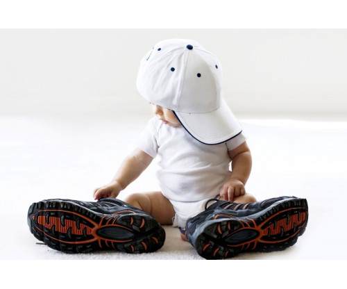 Child's Love - Cute Baby With Big Boots
