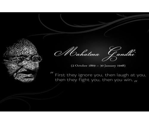 Mahatama Gandhi Motivational Quote 4