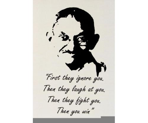 Mahatama Gandhi Motivational Quote 2