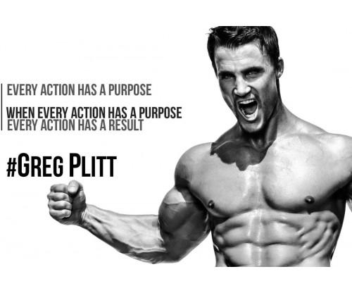 Greg Plitt Motivational Quote