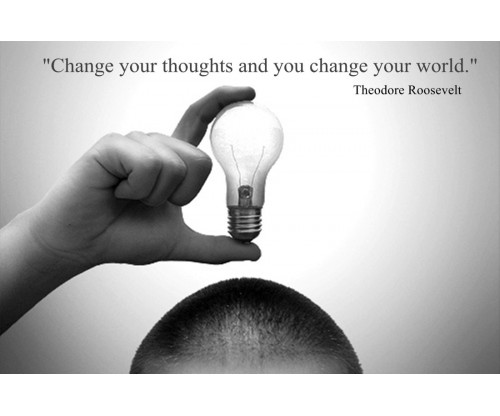 Change Your World Motivation Quote