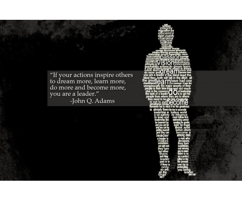 John Adams Motivation Quote