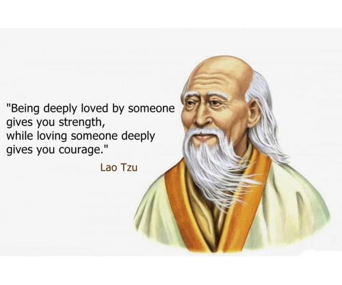 Lao Tzu Motivation Quote