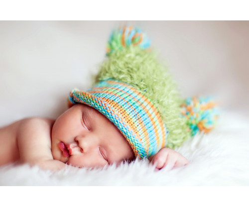 Child's Love - Cute Sleeping Baby