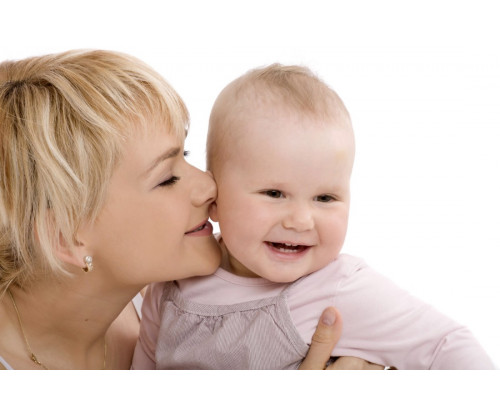 Child's Love - Cute Baby With Mother