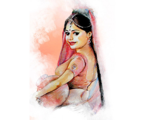 Village Girl Fine Art