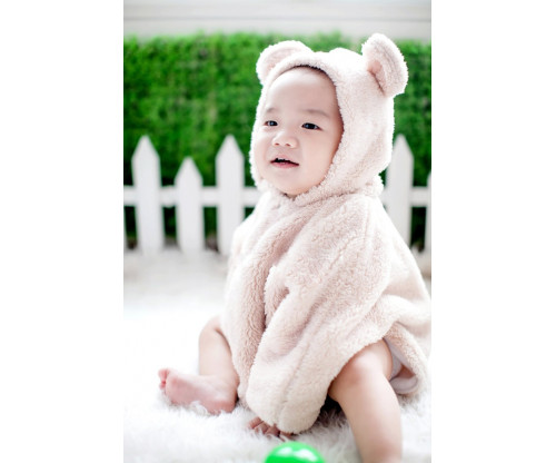 Child's Love - Cute Baby In Animal Outfit