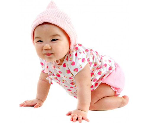 Child's Love - Cute Crawling Baby 6