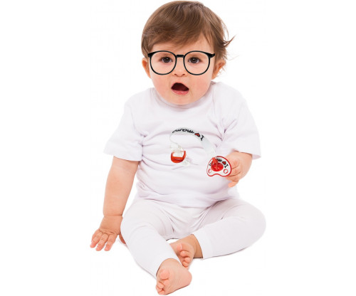 Child's Love - Cute Baby With Glasses