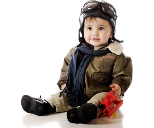 Child's Love - Cute Aviator Boy