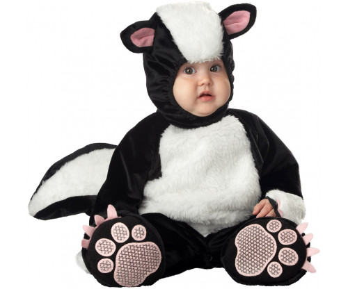 Child's Love - Cute Baby In A Skunk Costume