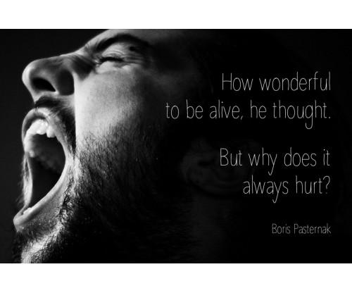 Boris Pasternak Motivational Quote