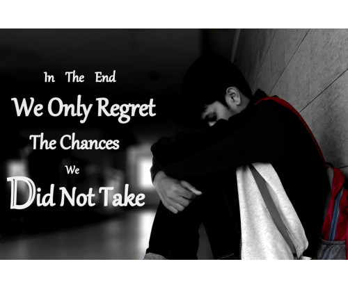 We Only Regret The Changes We Did Not Take