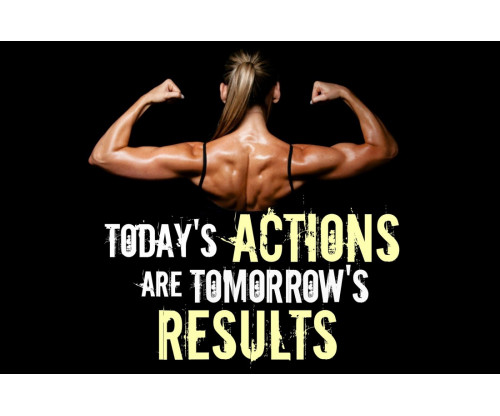 Today's Actions Are Tomorrow's Results