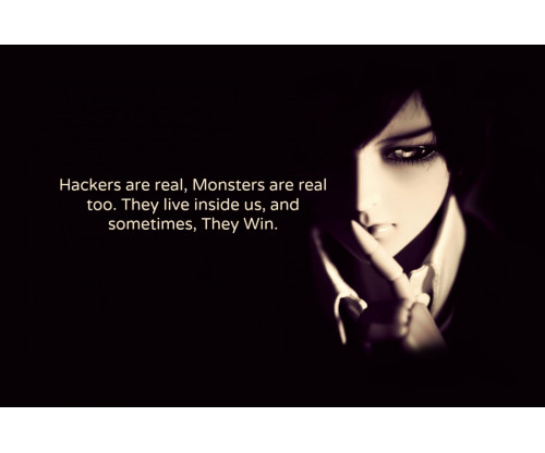 Hackers Are Real