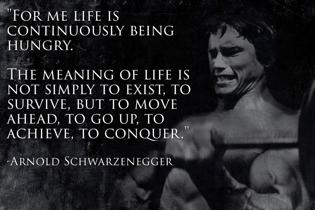 43% Arnold Schwarzenegger Motivational Quote 2