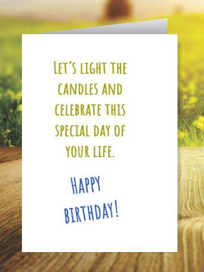 Birthday Greeting Cards ID - 3340