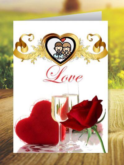 Love Greeting Cards ID - 3419