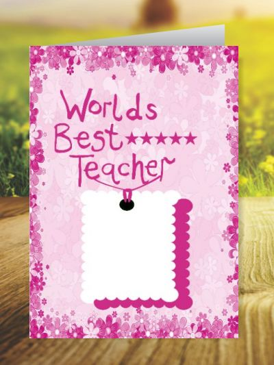 Teacher's Day Greeting Cards ID - 3475
