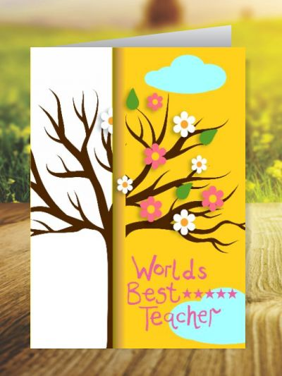 Teacher's Day Greeting Cards ID - 3479