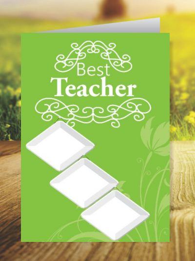 Teacher's Day Greeting Cards ID - 3481