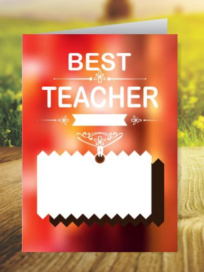 Teacher's Day Greeting Cards ID - 3484