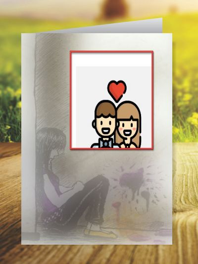 Miss You Greeting Cards ID - 4162