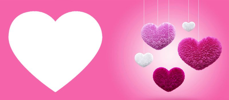 Colourful hearts - Valentines Day Coffee Mug
