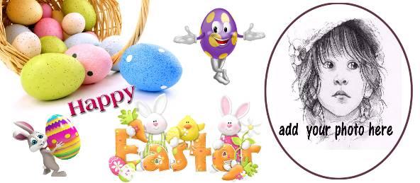 Happy Easter - Lovely Rabbits Coffee Mug