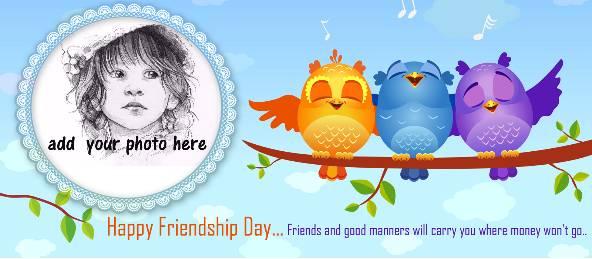 Three Singing Birds Friendship Day Coffee Mug