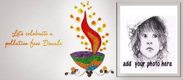 Pollution Free Diwali Wishes Coffee Mug