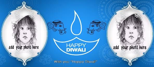 Happy Diwali - Elephant Design Coffee Mug