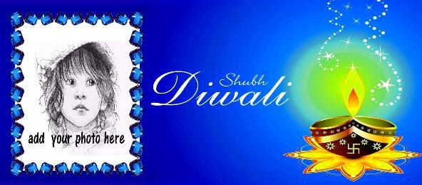 Shubh Diwali Wishes - Blue Coffee Mug