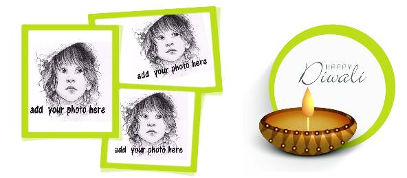 Happy Diwali Wishes - Three Images Coffee Mug